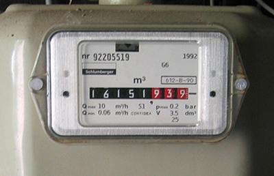 Gasmeter aflezen