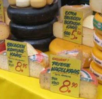 Kaas prijs per kilo